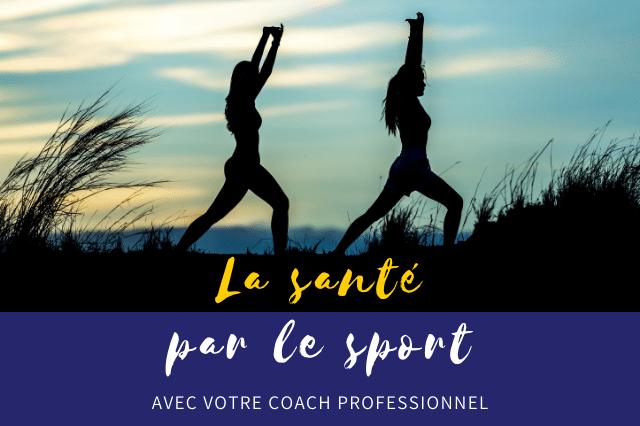 Agir sur votre santé par le sport est conseillée et soutenu par tous les coachs de France. L'activité physique, même quelques pas par jours vous aidera à vous sentir mieux et plus en phase avec votre corps. Pascale Garnier vous accompagne dans cette prise de conscience et dans le maintien d'actions pour votre santé.