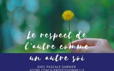 Le respect de l'autre comme un autre soi